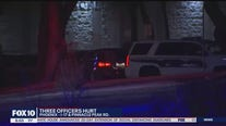 Phoenix PD: 3 officers injured in shooting