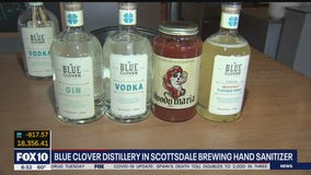 Blue Clover Distillery to donate hand sanitizer to organizations in need