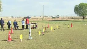 STEM Club rockets: Western Valley Elementary School students build, launch rockets
