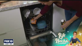 Life Hacks - How to clean the inside of dishwashers