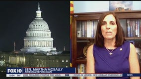 Sen. Martha McSally speaks as vote on coronavirus stimulus package nears