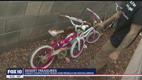 Desert Treasure: Valley couple fixes trash and resells the items on social media