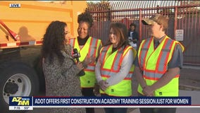 ADOT offers first construction academy training just for women