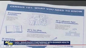 Arizona Gov. Ducey partners with Banner Health to promote participation in 2020 Census
