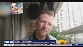 Life in lockdown: Former Prescott man living in China offers advice