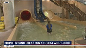 Cory's Corner: Spring break fun at Great Wolf Lodge
