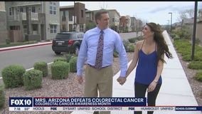 Mrs. Arizona shares her story on beating colon cancer