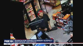 Phoenix Police search for armed robbery suspect; reward offered for information