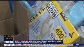 Phoenix supply drive for health care, emergency care workers held all week