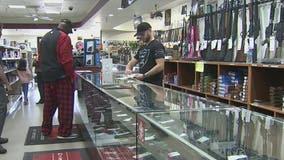 Coronavirus concerns cause gun store owner to see big uptick in handgun and shotgun purchases