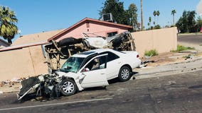 Three adults in serious condition after car accident in Phoenix