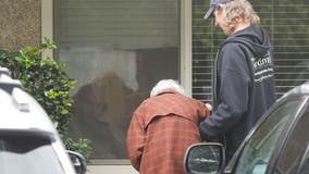 Couple married for over 60 years are separated by coronavirus quarantine