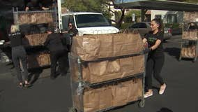 Group delivers grocery to seniors as coronavirus pandemic continues