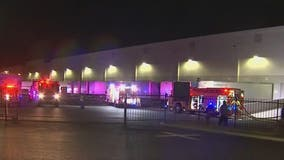 Employees evacuated following fire at Goodyear Amazon facility
