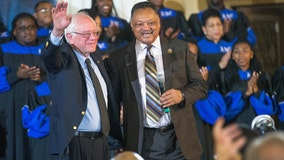 Jesse Jackson endorses Bernie Sanders for president