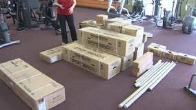 Exercise equipment a hot commodity during coronavirus pandemic