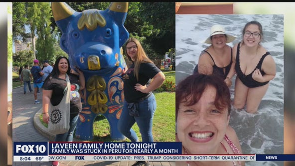 Arizona mother and daughter stranded in Peru after travel is restricted due to virus