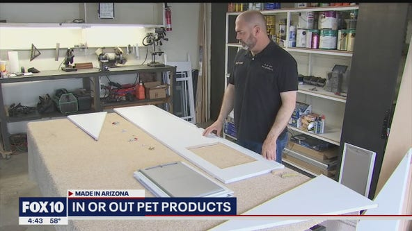 Made In Arizona - Valley business makes doors specifically for pets