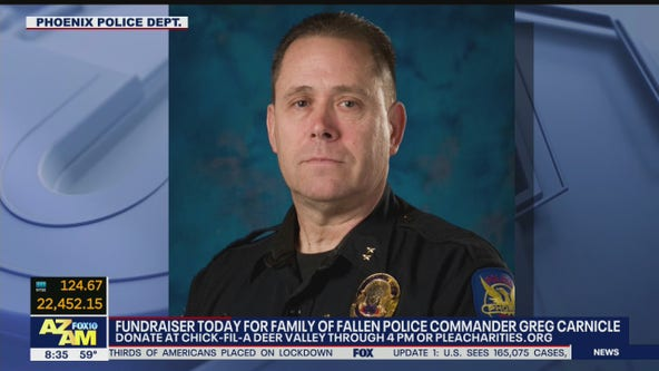 Deer Valley Chick-fil-A hosts fundraiser for fallen Phoenix police commander