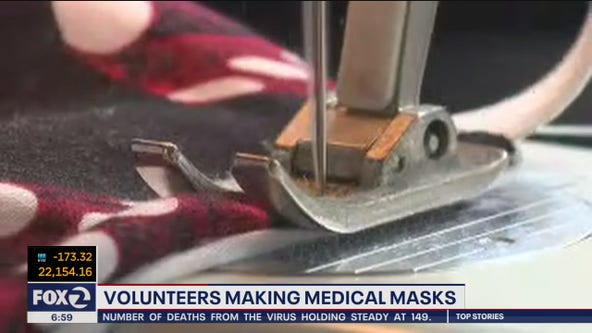Bay Area woman sews DIY surgical masks
