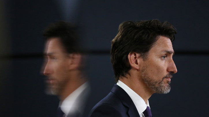 Canadian Prime Minister Justin Trudeau`s wife tests positive...