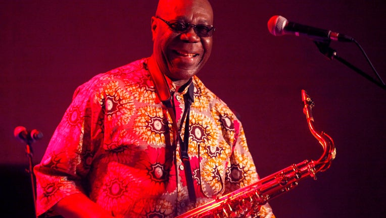 Manu Dibango Performs At Ezy Sur Eure