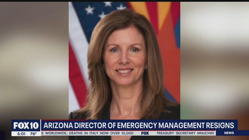 Arizona's Director of Emergency Management resigns