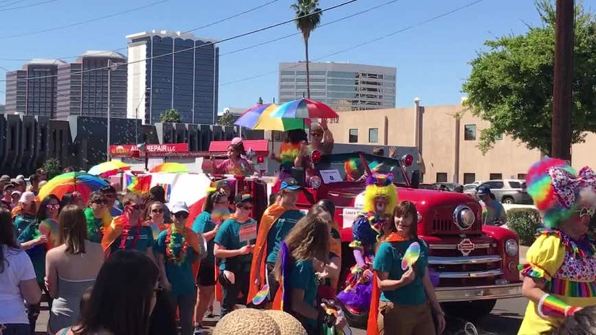 Phoenix Pride to stop allowing law enforcement agencies to participate in festival, parade