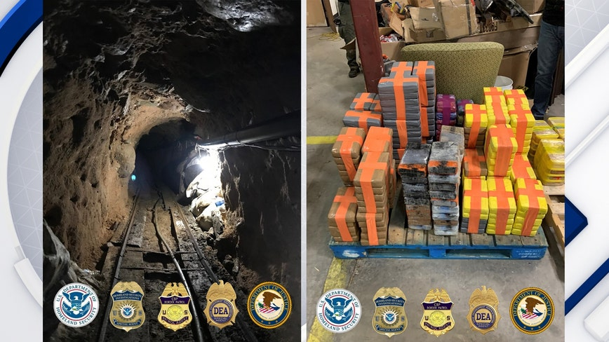 US finds major cross-border tunnel used to smuggle drugs