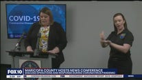 Maricopa County health officials discuss operations, response during coronavirus pandemic response