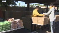 St. Mary's Food Bank holds mobile pantry to bring food to community