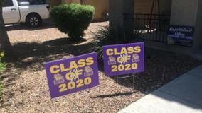 Queen Creek teachers surprise high school seniors with yard signs