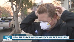 Garcetti says essential employees must wear face coverings starting Friday