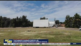 Schnepf Farms in Queen Creek now showing drive-in movies