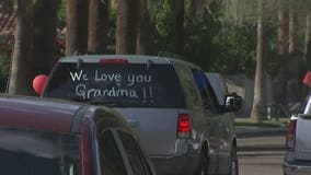 Birthday parade gives Phoenix grandmother a birthday to remember