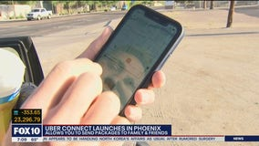 Uber Connect launches in Phoenix