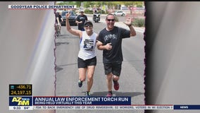Goodyear Police Department holds virtual torch run amid COVID-19