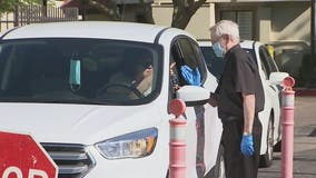 Scottsdale church offers drive-thru holy water for Palm Sunday