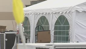 How white tents in downtown Phoenix are helping prevent the COVID-19 spread among the homeless
