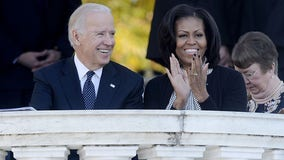 Biden says he'd make Michelle Obama his running mate 'in a heartbeat'