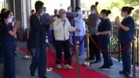Nursing home staff cheers after 94-year-old Holocaust survivor beats coronavirus