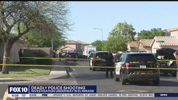 Investigation underway following deadly officer-involved shooting in El Mirage