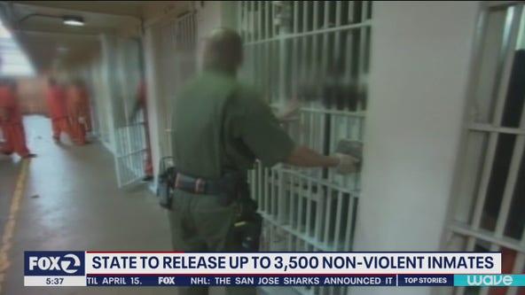 California seeks 3,500 new inmate releases over coronavirus