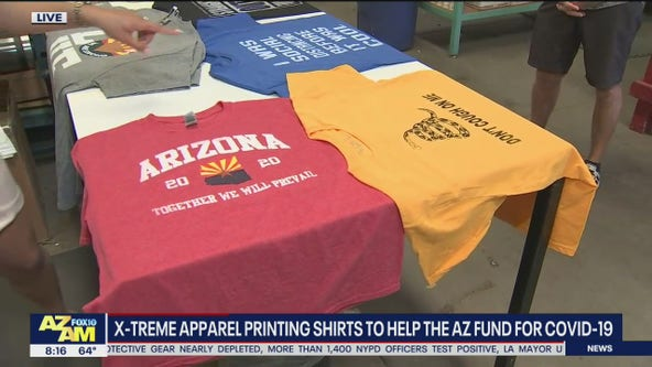 Valley t-shirt shop raising money for Arizona Together fund