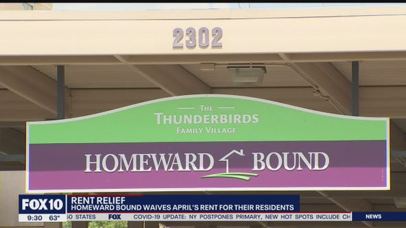 Homeward Bound waives April rent for their residents amid coronavirus pandemic