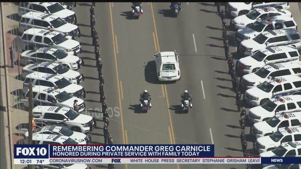 Funeral for slain Phoenix police commander livestreamed on Facebook amid COVID-19