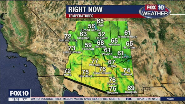 Noon Weather - 4/7/20