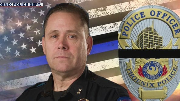 Funeral for slain Phoenix police commander to be livestreamed on Facebook amid COVID-19
