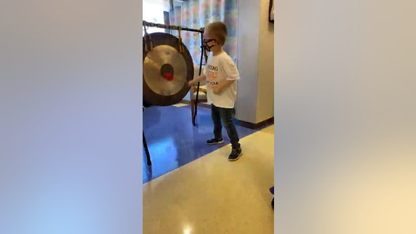 Despite COVID-19, hospital workers give 6-year-old who finished cancer treatment a proper sendoff