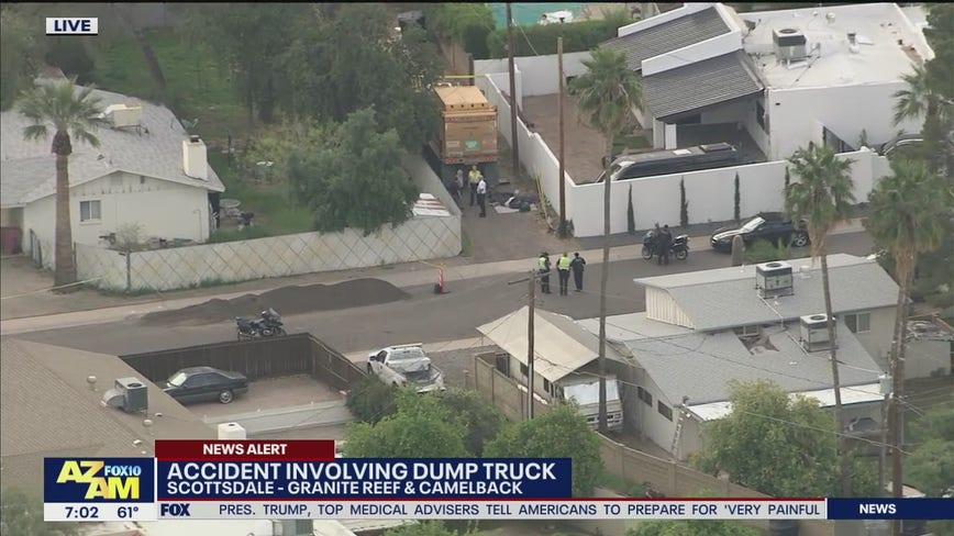 Scottsdale police investigating deadly pedestrian crash involving trash truck